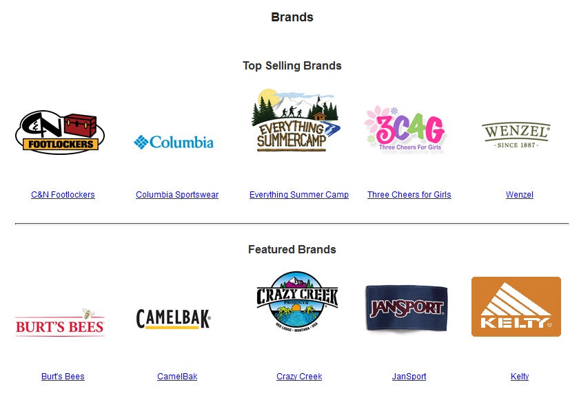 View most of our available brand names with this tool.