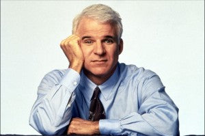 Steve Martin rings to true as classic comedy thanks to his philisophical approach.