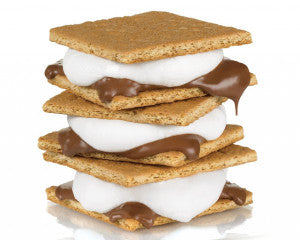 The perfect dessert sandwich treat for sitting around a campfire, S'mores come in all shapes and sizes!