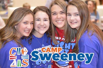 It's all smiles at Camp Sweeney!
