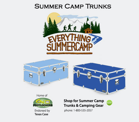 Texas Case Summer Trunks available through EverythingSummerCamp.com
