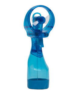 The water misting fan is a summertime gift from O2 Cool!