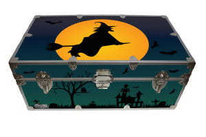 Bring Halloween to your home with the Flying Witch Camp Trunk.