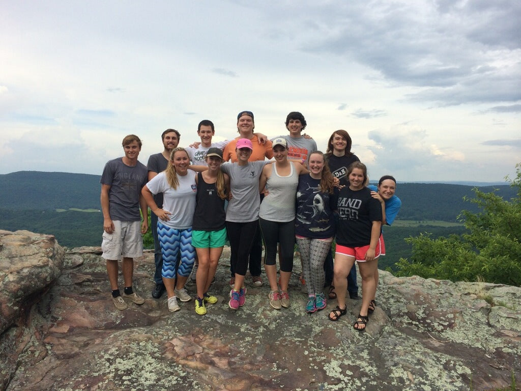 Join the gang on the mountain top at Camp Woodmont and have a blast this coming summer!