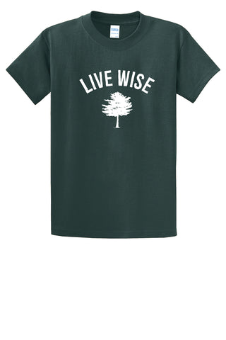 Camp Wise Live Wise Tee