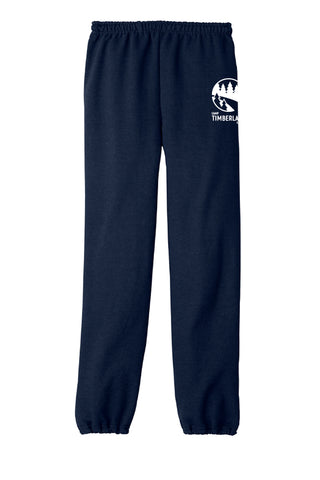 Camp Timberlane Logo Cinch Bottom Sweatpants|7699|7700|7701|7702|7703|7704|7705