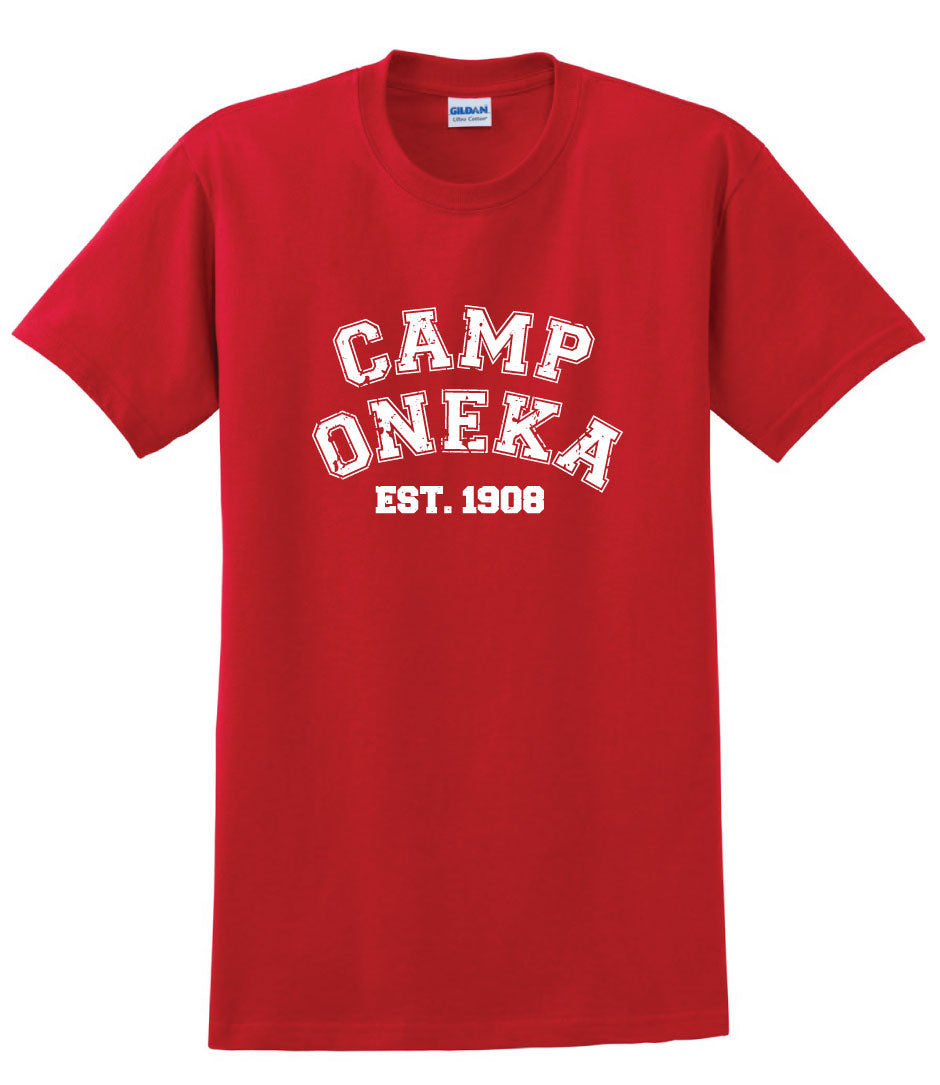 Camp Oneka Distressed Tee