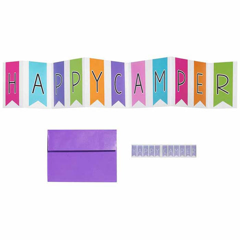 Three Cheers for Girls Folding Banner Card|14824