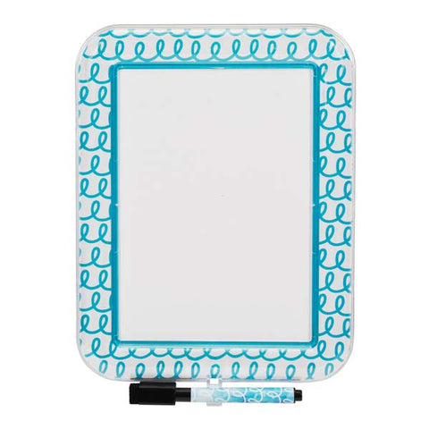 Style It! Magnetic Locker Dry Erase Board w/ Marker|54375