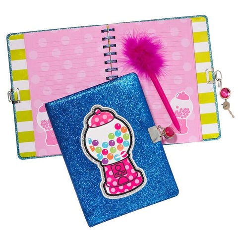 Three Cheers for Girls Locking Journal w/ Pen|10762