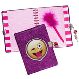 Three Cheers for Girls Locking Journal w/ Pen