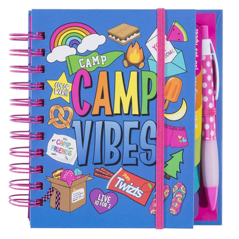 Three Cheers for Girls Camp Vibes Journal|36041