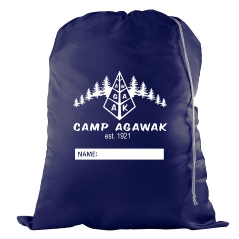 Camp Agawak Laundry Bag