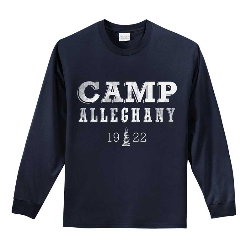 Alleghany Distressed Long Sleeve Tee