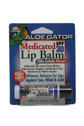 Aloe Gator SPF 30 Medicated Lip Balm