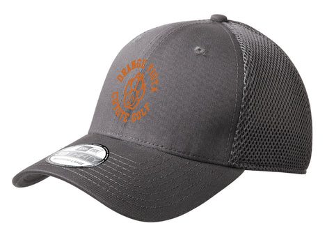 Orange Vista New Era Mesh Back Cap