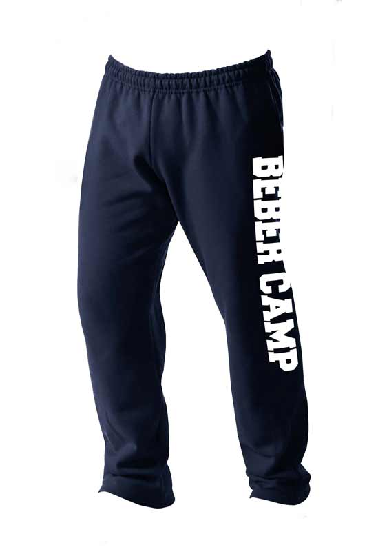 Beber Camp Open Bottom Sweatpants