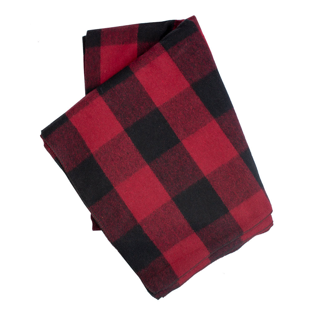 Bunkhouse Plaid Wool Blanket