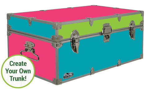 Create-Your-Own Footlocker Trunk 32x18x13.5""