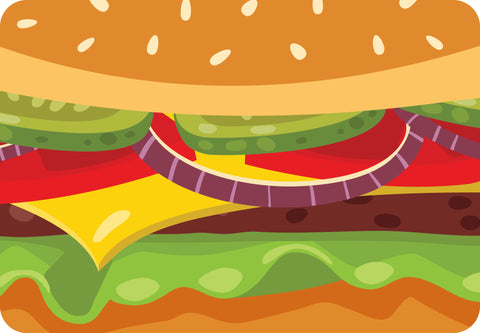 ESC Camp Floor Mat - Hamburger