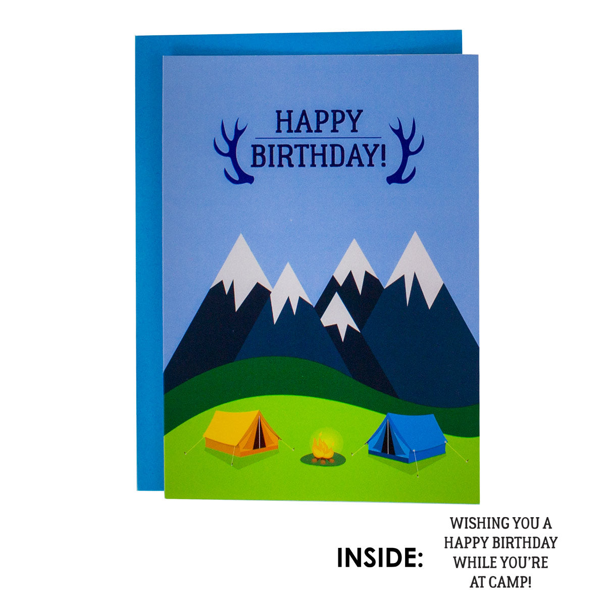 Summer Camp Birthday Cards for Boys, Girls, and Parents