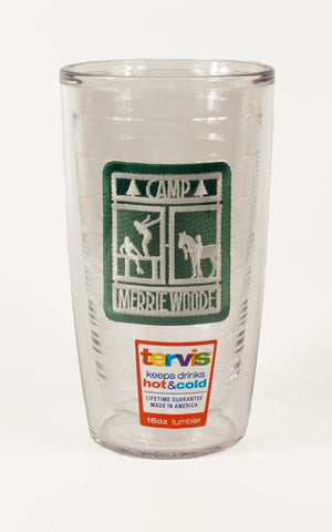 Camp Merrie-Woode Traditional Logo Tervis Tumbler