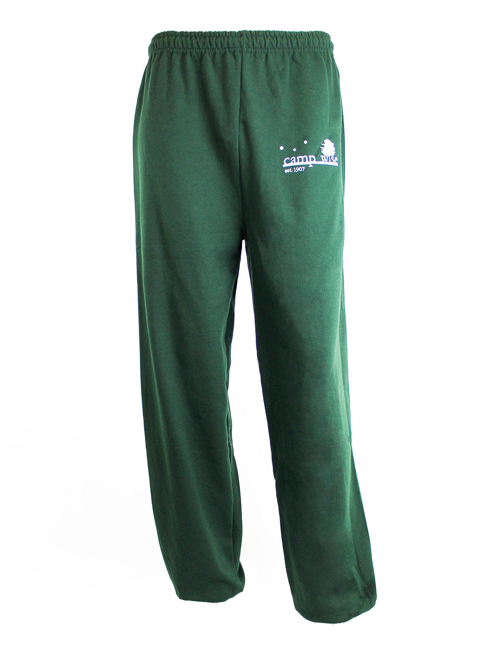Camp Wise Open Bottom Sweatpants