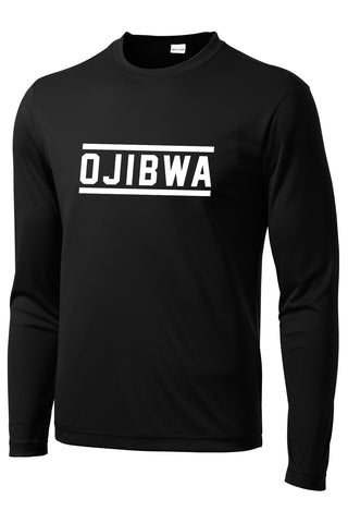 Camp Ojibwa Long Sleeve Performance Tee