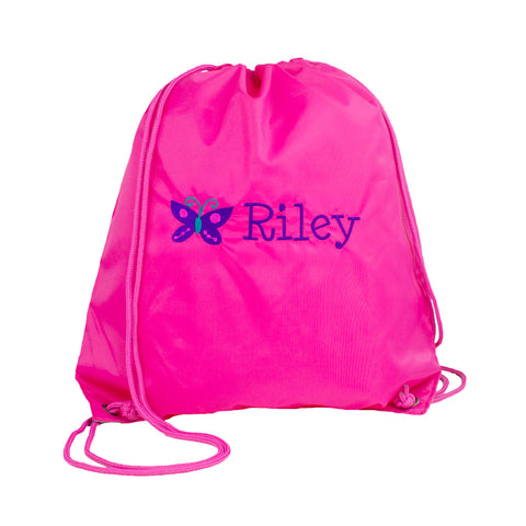 Personalized Nylon Cinch Sack