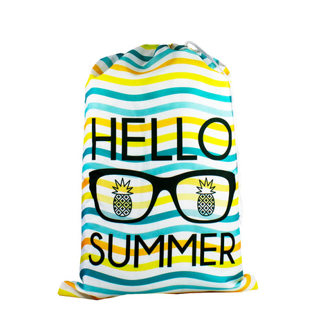 Designer Laundry Bag - Hello Summer
