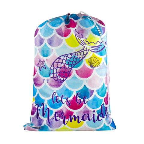 Designer Laundry Bag - Let's be Mermaids