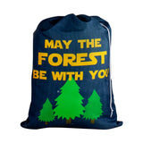 Designer Laundry Bag - May the Forest be with You