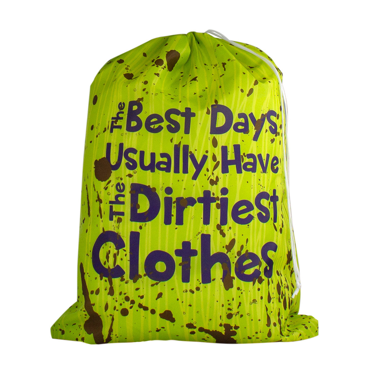 Designer Laundry Bag - The Best Days…