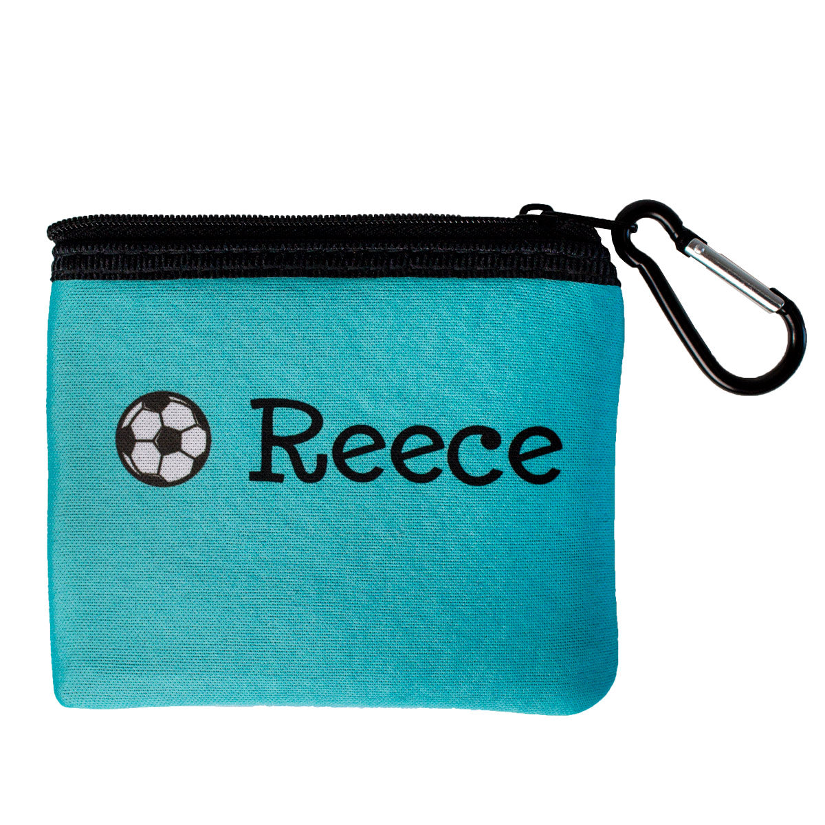 Personalized Solid Color Face Mask Storage Pouch