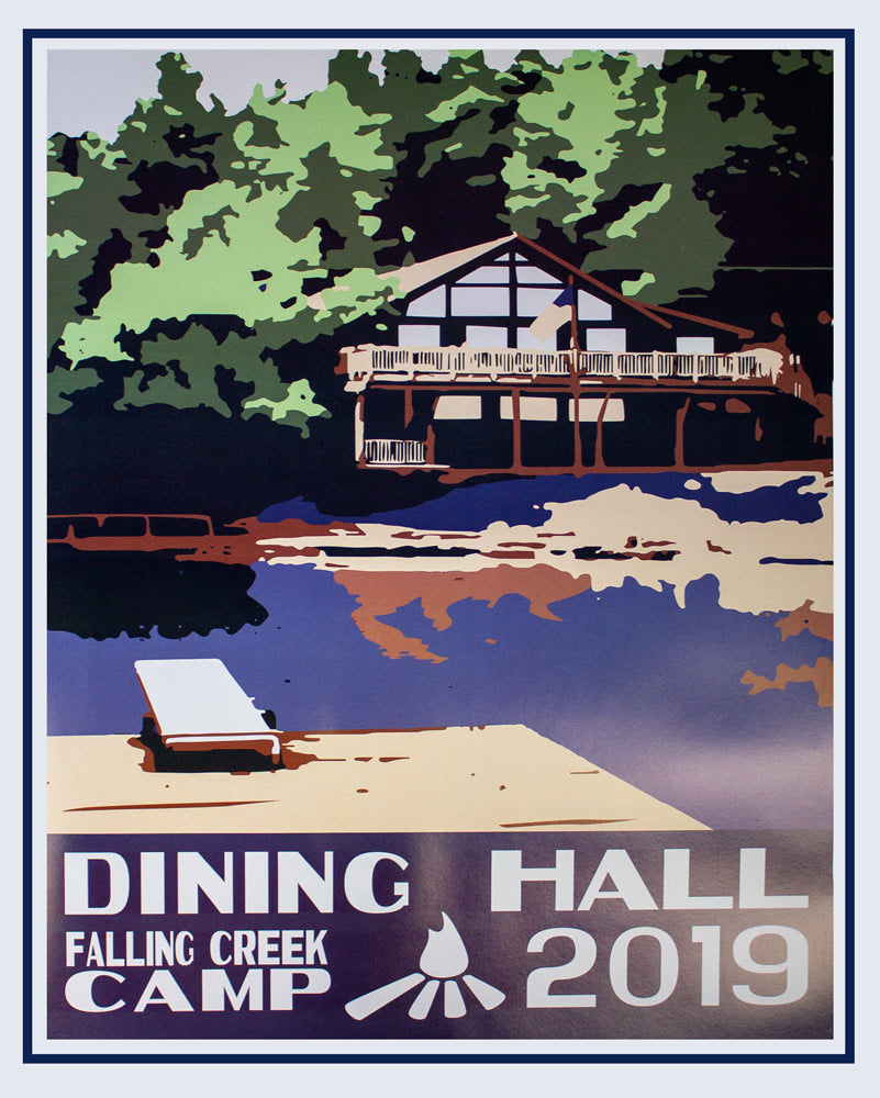 2019 Falling Creek Camp Poster