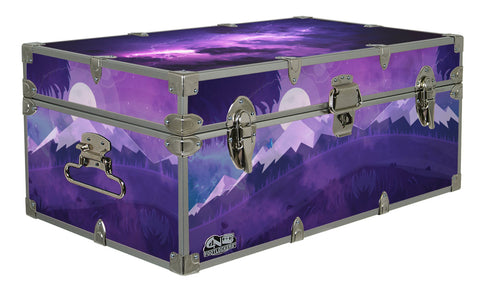 Designer Trunk - Save the Earth - 32x18x13.5""