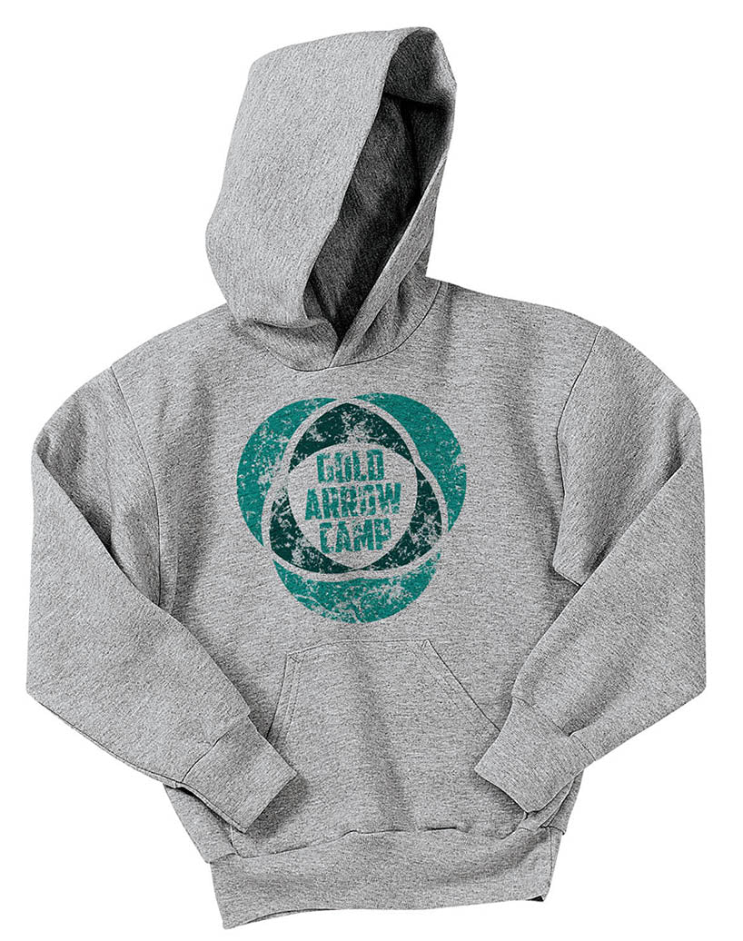 Gold Arrow Camp Hoodie