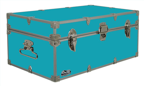 Happy Camper Footlocker Trunk 32x18x13.5"