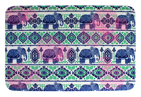 ESC Camp Floor Mat - Aztec Elephants
