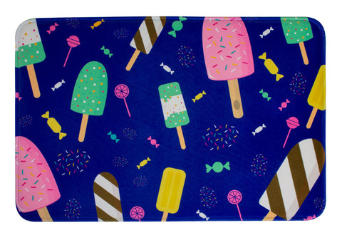 ESC Camp Floor Mat - Ice Cream Treats