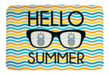 ESC Camp Floor Mat - Hello Summer