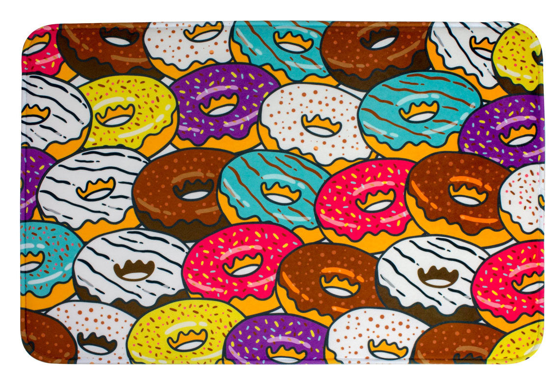 ESC Camp Floor Mat - Donuts