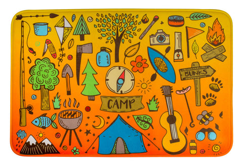 ESC Camp Floor Mat - Camp Icons