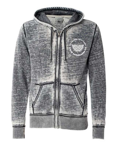 Camp Interlaken Zip Hoodie