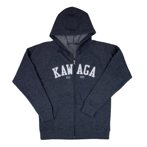Camp Kawaga Applique Zip Hoodie