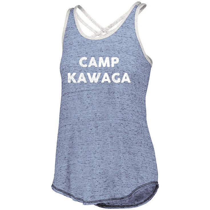Camp Kawaga Ladies Ringer Tank
