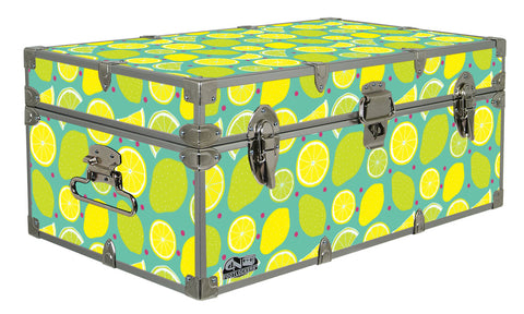 Designer Trunk - Lemon Lime - 32x18x13.5""
