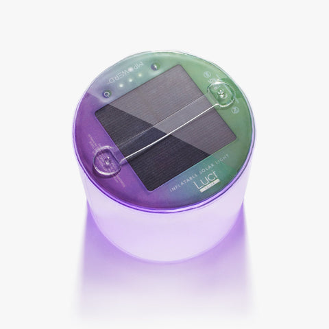 MPOWERD Luci Color Inflatable Solar Light
