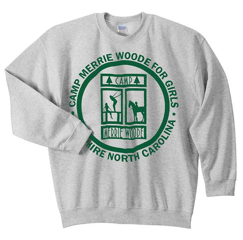Camp Merrie-Woode Logo Crew Sweatshirt