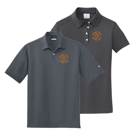 Orange Vista Nike Golf Wicking Polo